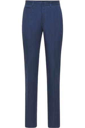 BRIONI 20cm Arosa Cotton Gabardine Pants