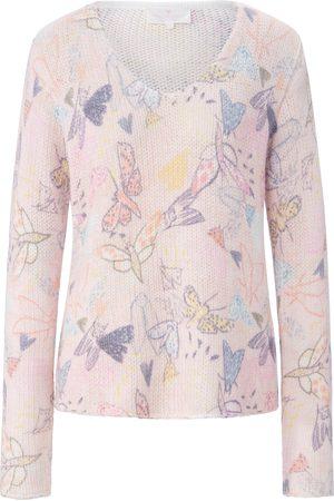Lieblingsstück Women Jumpers - V-neck jumper print multicoloured size: 12