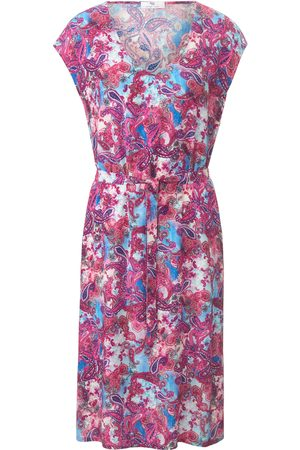 mayfair by Peter Hahn Jersey dress multicoloured size: 10