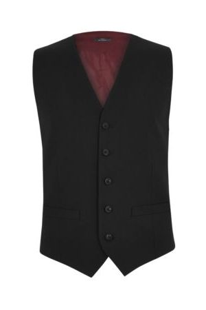 Marks & Spencer Mens Tailored Fit Waistcoat with Stretch - SLNG