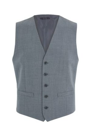 Marks & Spencer Mens The Ultimate Tailored Fit Waistcoat - MLNG