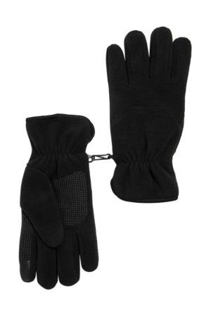 Marks & Spencer Mens Fleece Gloves with Thermowarmth™ - L-XL - , ,Charcoal Mix
