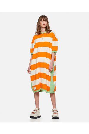 Sunnei x Biffi Women Knitted Dresses - STRIPED COTTON KNIT DRESS size M