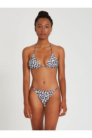 Volcom Women Bikinis - Women's Coral Morph Triangle Bikini Top - Multi