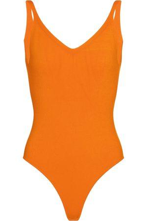 DRIES VAN NOTEN V-neck bodysuit