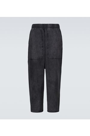 Balenciaga Cropped cotton sweatpants
