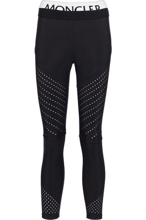 Moncler Women Stretch Trousers - Stretch-jersey leggings
