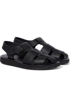 The Row Fisherman leather sandals