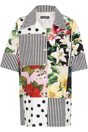 Dolce & Gabbana Patchwork cotton shirt