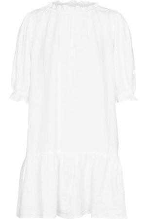 Velvet Women Dresses - Bernice linen minidress