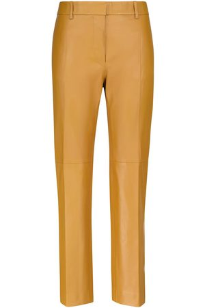 Joseph Coleman high-rise leather pants