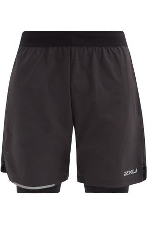 2XU Aero Double-layer Technical Running Shorts - Mens