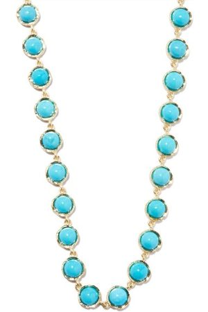 Irene Neuwirth Turquoise & 18kt Gold Necklace - Womens