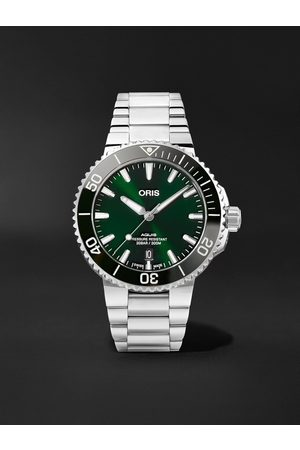 Oris Aquis Date Automatic 41.5mm Stainless Steel Watch, Ref. No. 01 733 7766 4157-07 8 22 05PEB