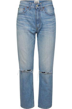JUNYA WATANABE Destroyed Cotton Jeans