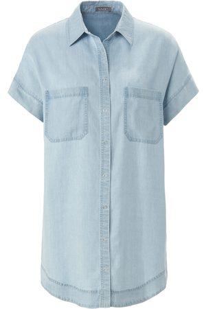 Mybc Women Blouses - Denim blouse drop shoulder size: 10