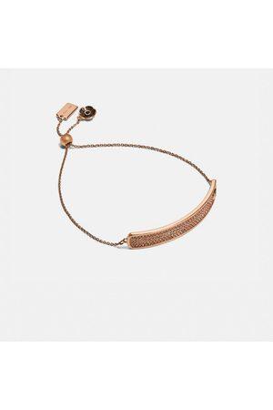 Coach Women Bracelets - Pave Slider Bracelet in