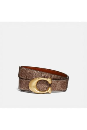 Coach Women Belts - Signature Buckle Reversible Belt, 25mm in / - Size L