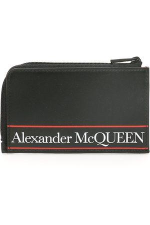 Alexander McQueen LOGO POUCH OS , , Leather