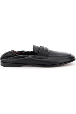Dolce & Gabbana ARIOSTO NAPPA LOAFERS 39 Leather