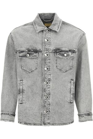 Dolce & Gabbana Men Denim Jackets - SHIRT-STYLE DENIM JACKET 46 Cotton