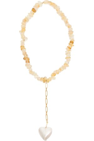 Timeless Pearly QUARTZ NECKLACE OS ,