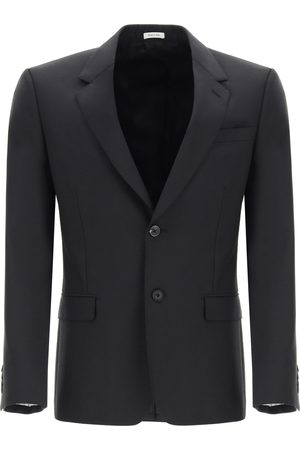 Alexander McQueen WOOL AND MOHAIR BLAZER 48 Wool