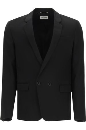 Saint Laurent JUNGLE WOOL JACQUARD BLAZER 48 Wool