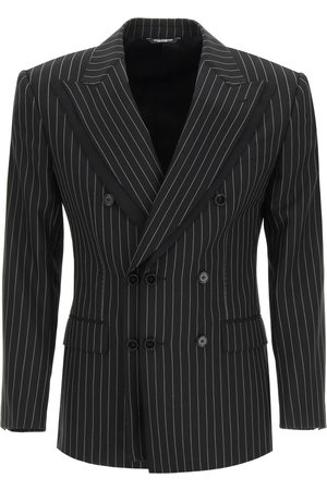 Dolce & Gabbana TAILORED BLAZER IN PINSTRIPE WOOL 48 , Wool