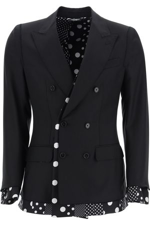 Dolce & Gabbana SICILIA DOUBLE-BREASTED JACKET 48 Wool