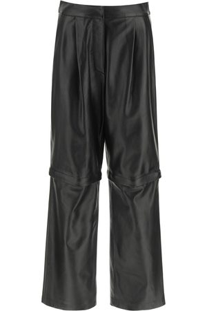 Sportmax 2 IN 1 NAPPA TROUSERS 38 Leather