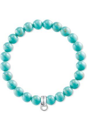 Thomas Sabo Women Bracelets - Charm bracelet turquoise turquoise X0213-404-17-L15,5
