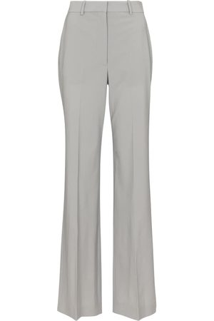 Joseph Morissey wool blend wide-leg pants