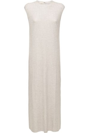 Loulou Studio Andrott Wool & Cashmere Knit Long Dress