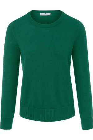 Peter Hahn Round neck jumper in 100% SUPIMA® cotton size: 10