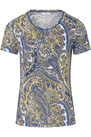 Peter Hahn Round neck top lovely paisley prints size: 10