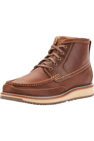 Ariat Men Cowboy Boots - Men's Lookout Boots in Foothill Leather