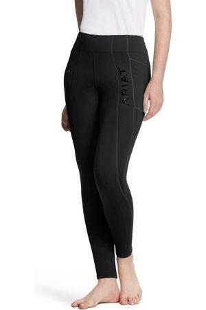 Ariat Women Sports Leggings - Women's Attain Knee Patch Grip Tight FleeceRiding Breech in