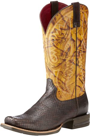 Ariat Men's Relentless Advantage Western Boots in Two Tone Serpent Leather