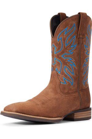 Ariat Men Cowboy Boots - Men's Everlite Vapor Western Boots in Distressed Tan Leather