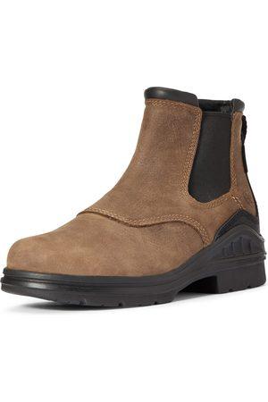 Ariat Women's Barnyard Twin Gore II Waterproof Boots in Antique Leather