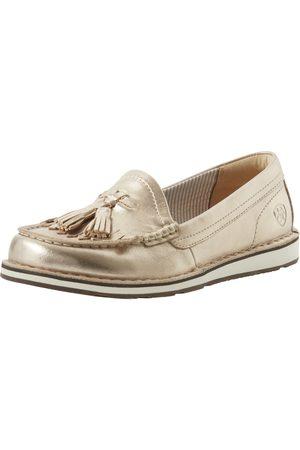 Ariat Women Loafers - Women's Tassel Cruiser Casual Shoe in Rose Leather