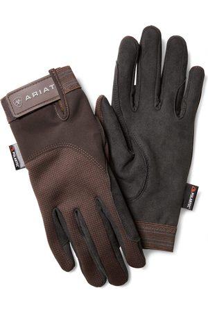 Ariat Insulated Tek Grip Gloves in Bark
