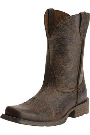 Ariat Men Cowboy Boots - Men's Rambler Boot in Wicker Leather