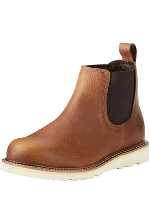 Ariat Men Cowboy Boots - Men's Recon Mid Boots in Golden Grizzly Leather