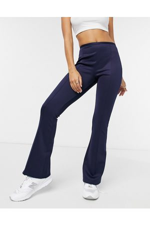 Closet Tailored flare trouser co-ord in navy
