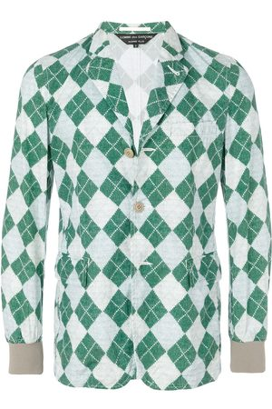 Comme des Garçons Knit printed jacket