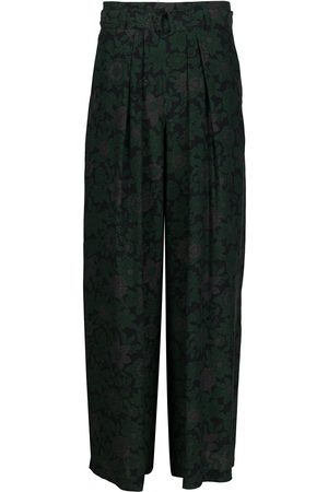 CHRISTIAN WIJNANTS Pleated wide-leg trousers