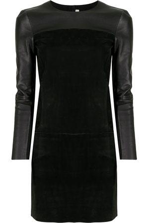 Céline Women Dresses - Panelled long-sleeved dress