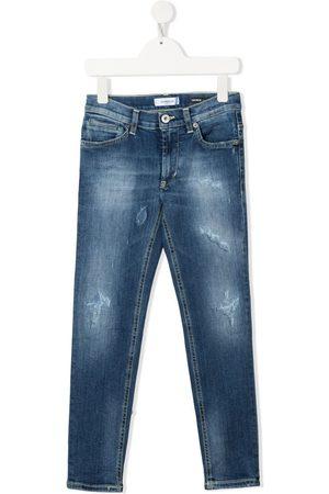 Dondup Boys Slim - Slim-fit distressed jeans